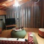 Lounge inside the Room
