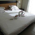 Notre lit la veille du départ