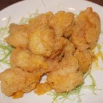 Crispy Prawn w/ Salty Egg Yolk