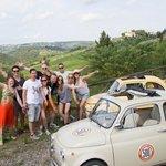 Fiat 500 tour, Florance