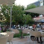 jardin terrasse du restaurant
