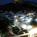 view from Mythos Restaurant