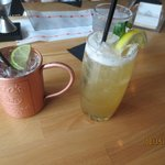 Moscow mule & pesca