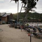Beach Loungers & Restaurant