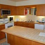 No frills kitchen