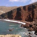 spiaggia rossa delusione