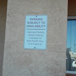 parking is limited