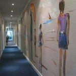 le couloir peint
