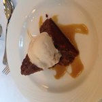 Amazing sticky toffee pudding