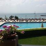 marmara sea view whilst enjoying a coffee