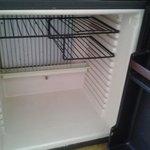 grille rouillee du refrigerateur