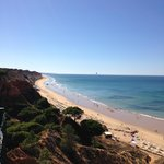 Falesia Strand ´Sicht von Hotel Falesia Bay