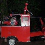 Fire Fighting Tuk Tuk on standby