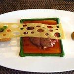Scottish Grouse,giroiles,bread sauce & watercress