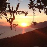 Sonnenuntergang über Brela