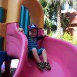 children play area/slide