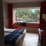 room set up on 6th floor