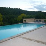 Beautiful pool and surrounds.