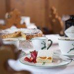 Kaffee und Kuchen - Dessert