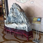 Stone of mount Tai