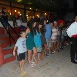 Greek Folk Night, learning Zorba's Dance