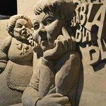 1 van de vele sculpturen die er te vinden was