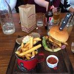 The American XXXL burger.