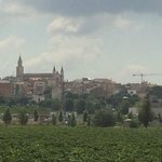 View of Villafranca from hotel grounds
