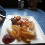 pogo and fries -- kid's meal