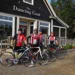 Cabot Trail Cycle Day One Coffee stop