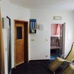 Area sauna e relax dell'hotel Zum Hasen