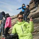 @ The top of Mt. Seorak...