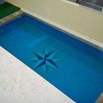 Mini piscina (sin problemas de ocupación, nunca hay nadie)