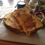 Gorgeous cheese and ham toasty xXx