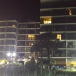 Night time view of the beach -- Ocean Dunes building