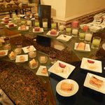 desserts in the evening