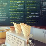 Gelateria in La Jolla; simply organic and tastes divine.