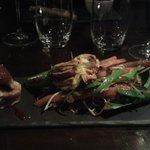 foie gras sur thon
