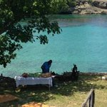 Sea front massage at Le Mer Villas