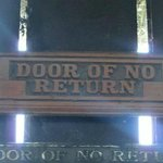 """Slaves taken from the dungeons were taken through the """"Door of no return"""" to be sold somewhere i"""