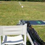 Practice de golf compact avec balles légères 30%