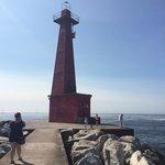 Pere Marquette park lighthouse