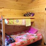 Double/twin bunk bed in front room