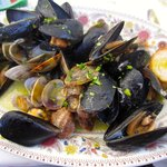 sautéed oysters and mussels