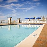 Enjoy swimming in the outdoor pool