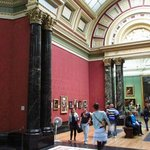 The gallery itself is a superb building, truly fitting for the pictures displayed.