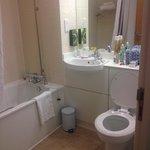 Simple but really clean bathroom