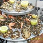 Fabuleux plateau de fruits de mer