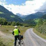 Val Venosta in bici : Fatta giovedì 21 agosto , assolutamente da non perdere , nel tragitto sull