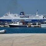 Tinos harbour